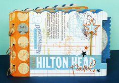 *Hilton Head Travels* Vacation Album - Scrapbook.com