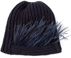 Bernstock Speirs 'Feathers Beanie' hat on shopstyle.com