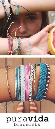 •	Check out styles and collections featuring hand-made bracelets from Costa Rica. Each bracelet purchased helps provide full time jobs to local artisans in Costa Rica. The pura vida lifestyle is embodied by the enjoyment of a life lived slowly, the celebration of good fortune, and the refusal to take anything for granted. It's about being free and living life to the fullest; it's an attitude.