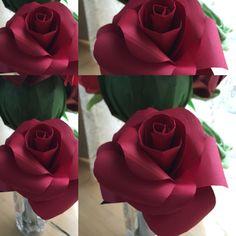 origami rose paperflower