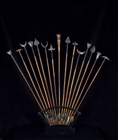 Chokwe arrows