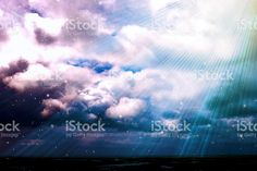 Magical Cloud with Light Beams and Stars Background, Filtered royalty-free stock photo Fantasy Background, Star Background, Light Beam, Soft Colors, Image Now, Beams, Filters, Royalty Free Stock Photos, Neon Signs