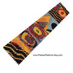 Bracelet Pattern for Bead Loom or Single Peyote par PalacePatterns