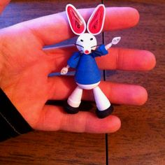 Paper quilling rabbit I made - by: Jena Orr-Pinterest