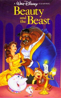 Beauty and The Beast - My favorite Disney movie when I was a kid :)