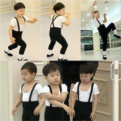 """Superman Returns"" Triplets Transform into Little Ballerinos"