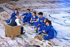 Giuliano Peparini incontra i ragazzi della Squadra Blu ... #Amici14