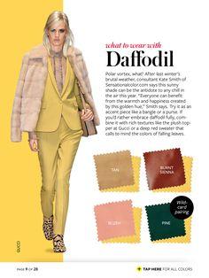daffodil + tan/burnt sienna/blush/pine
