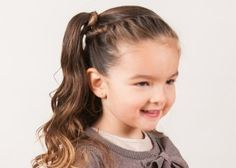 Festive hairstyle for your little girl, step by step   win!