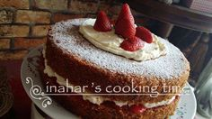 INAHAR'S COOKING TIME!: VICTORIA SANDWICH CAKE