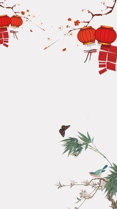 中国風の中国風の層別の背景 Chinese New Year Wallpaper, Chinese Artwork, Chinese Drawings, Chinese Christmas, Chinese Background, Chinese New Year Design, Chinese New Year Decorations, Chinese Crafts, Halloween Photos