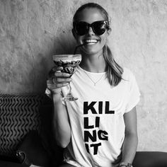 Oh and if someone could please hook me up with this T-shirt I'll be your BFFL! by josephineison Foto Fun, Look Fashion, Womens Fashion, Vogue, Facon, Dress Me Up, Casual, Style Me, Girl Style