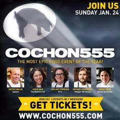 5 Chefs, 5 Pigs & 5 Winemakers:http://COCHON555.comis back in#NYCon 1/24 Check out this all-star chef lineup!