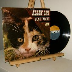 BENT FABRIC LP ALLEY CAT 1962