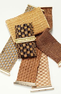 Carolina Bucci. Bracelets from mixed collections