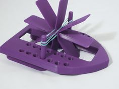 The 3D Printed Hamel Monohull Paddle Boat a Basic Press-Fit Design #3dprintingdiy