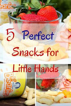 I make multiple snacks each week so I thought I'd share 5 Perfect Snacks for Little Hands. #ad #gerberlilbeanies
