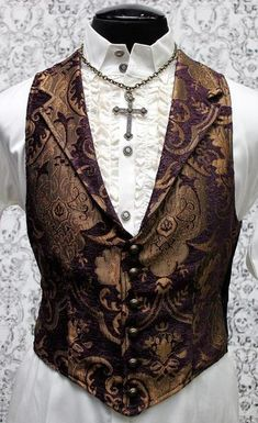 SHRINE UNDERGROUND COUTURE - ARISTOCRAT VEST (AVAILABLE IN 5 COLORS) - FETISH