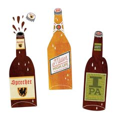 . Miller High Life, Drink Beer, Hot Sauce Bottles, Ale, Drinks, Drinking, Beverages, Ale Beer, Drink