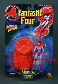 Fantastic Four Medusa Action Figure Marvel by tjetcollectibles