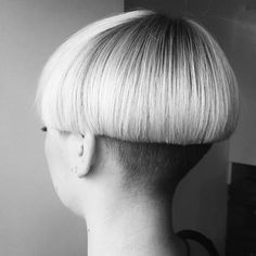 A bowlcut like this would look deliciously sissy on me I think, while a micro bob would make me look so cute and femme. What style should I get, please help me choose...