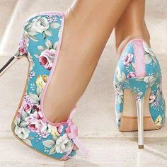 Champetre chic jusqu'au chaussures!!