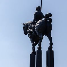 #JavierMarin, #de3en3, grupo negro. #caballo, #escultura en #bronce. #horse, #sculpture, #bronze