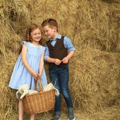 Down on the farm, wedding inspiration, farm style, kids fashion, wedding fashion, waistcoat style, bow tie, pageboy