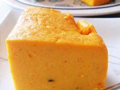かぼちゃのクリームチーズケーキの画像