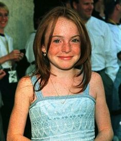 Lindsay Lohan in the Parent Trap days, before she failed at life