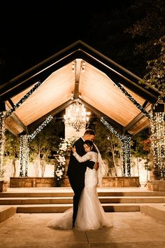 Having an outdoor wedding reception? Make sure you are covered with lots of lighting ! These string lights twinkled underneath this Dallas couples first dance as bride and groom Dallas Wedding, Post Wedding, Wedding Photo Inspiration, Color Inspiration, Outdoor Wedding Reception, Boho Wedding Decorations, Fall Wedding Colors, Wedding Moments, Wedding Couples