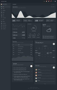 #ux #ui #material #design #google #admin #dashboard #dark Material Design Website, Material Design Dashboard, Google Material Design, Dashboard Design, Ui Ux Design, Dashboard Interface, Analytics Dashboard, User Interface Design, Web Dashboard