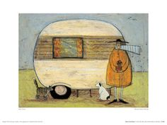 Home From Home Giclee Print by Sam Toft at AllPosters.com
