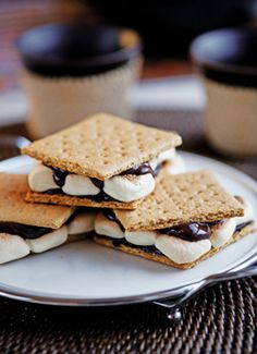 Recipe: Chai-Spiced S'mores. (Follow our other boards for detox, fitness, yoga and green living tips: pinterest.com/gaiam)