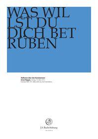 """BWV 107: Ernst Pöppel    Reflexion über den Kantatentext    Ernst Pöppel über BWV 107 """"Was willst du dich betrüben""""    16. März 2012 Foundation, Foundation Series"""