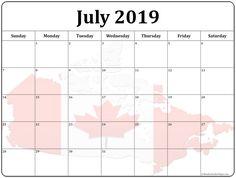 138 Best July 2019 Calendar images | 2019 calendar, July