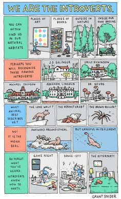 Why It's Great To Be An Introvert- (Not sure when I went from being an Extrovert to an Introvert but I'm ok with this. I'm in good company.)