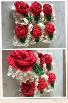 Argolas de guardanapo de crochet