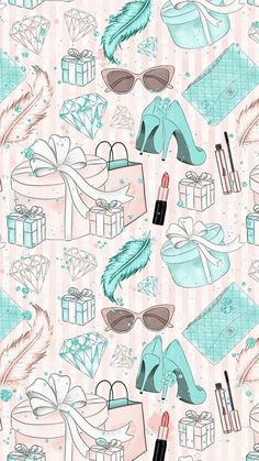 Trendy Breakfast At Tiffanys Wallpaper Art Ideas Fashion Wallpaper, Trendy Wallpaper, Wallpaper Iphone Cute, Cute Wallpapers, Wallpaper Backgrounds, Vintage Backgrounds, Wallpaper Art, Iphone Backgrounds, Decoupage