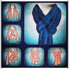 I love scarves. They are such an easy way to accessorize an outfit. I didn't find myself wearing them during the summer as it is hot here in the midwest. D