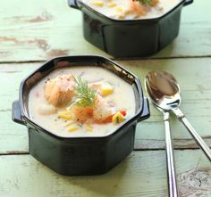 Seafood Chowder for Soul Warming at #SundaySupper