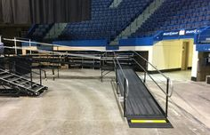 The XL Center in Hartford, Connecticut hosted two graduation ceremonies this week and #Amramp was there. Bob Danek and the Amramp Connecticut team installed two wheelchair ramps at the #XL Center to provide wheelchair access for graduation ceremonies for @EasternCTUniversity on May 17 and @CentralConnecticutStateUniversity on May 21. Congratulations to the graduating classes of 2016!