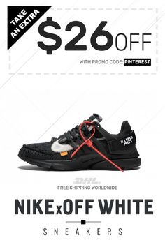 pretty nice d0855 77a11 Order womens size Nike Off-White Air Presto Black Max at online shop