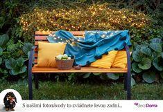 Využijte každou chvilku babího léta a zůstaňte venku. Ovšem skromnější sluneční paprsky podpořte teplou výbavou. Další tipy, jak si zpříjemnit pobyt na zahradě, najdete v našem článku. Outdoor Sofa, Outdoor Furniture, Outdoor Decor, Couch, Home Decor, Settee, Decoration Home, Room Decor, Sofas