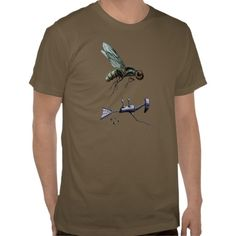 Fly Flier. Pert of the bots riding bugs series. Artwork by 'Trick!  TricksPlace.com www.zazzle.com/tricksplace*
