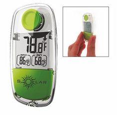 Digital Solar Thermometer