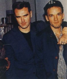 Morrissey and Michael Stipe. Omg get married
