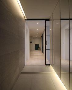 @da_all_interior님의 이 Instagram 사진 보기 • 좋아요 63개 Modern Entrance, Entrance Design, House Entrance, Door Design, House Design, Lobby Interior, Apartment Interior, Interior Architecture, Hospital Design