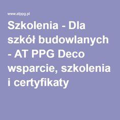 Szkolenia - Dla szkół budowlanych - AT PPG Deco wsparcie, szkolenia i certyfikaty #budowlanki #szkolenia #wsparcie