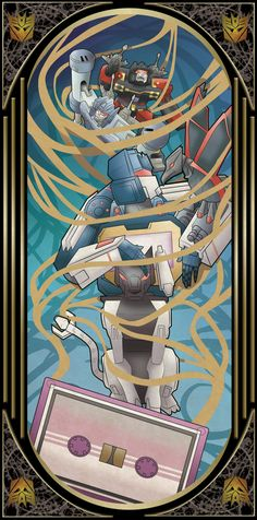 Transformers Tarot cards: Strenght by Chibininja1917.deviantart.com on @DeviantArt